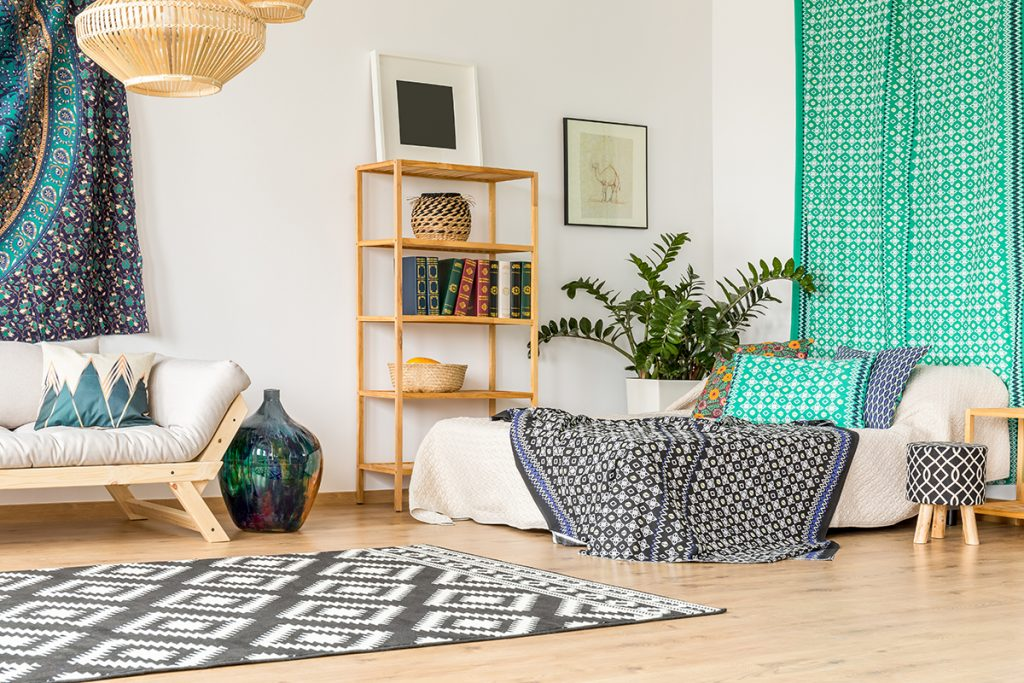 Como aproveitar os espaços milimétricos de um studio?