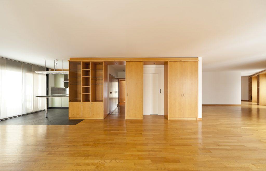 Marcenaria básica para apartamentos amplos
